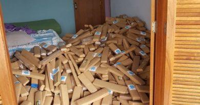 DIG apreende 3,8 toneladas de maconha escondidas em chácara de Limeira