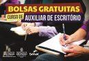 Programa oferece 45 vagas gratuitas para curso de  Auxiliar de Escritório