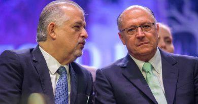 Pré-candidato à Presidência da República, Alckmin  renuncia ao Governo de São Paulo